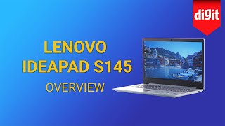 Lenovo IdeaPad S145 Laptop Overview