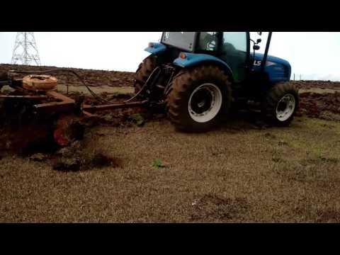 Teste Ls Tractor P80C grade 16 discos