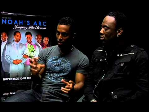 Noah's Arc: Jumping the Broom  Exclusive: Daryl Stephens and Rodney Chester