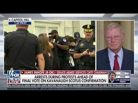 Inhofe Joins Bill Hemmer and Dana Perino on Fox News' America's News Headquarters