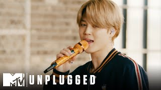 "BTS Performs ""Telepathy""  MTV Unplugged Presents BTS"