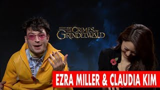 Ezra Miller Rages At Camera Man in Hilarious Interview!