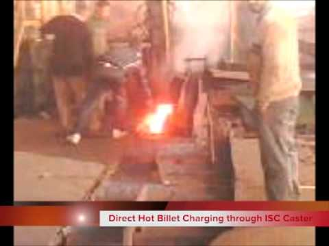 Hot Billet Direct Charging by ISC from CCM to TMT Bar Rolling Mill