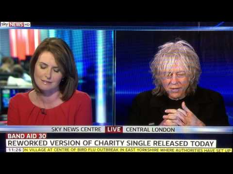 Sir Bob Geldof just gave the best answer live on Sky News. TWICE!