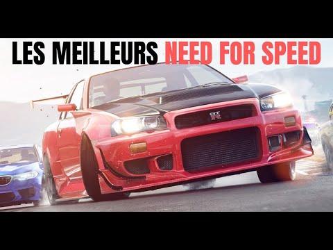 Need For Speed : les 10 meilleurs jeux de la saga