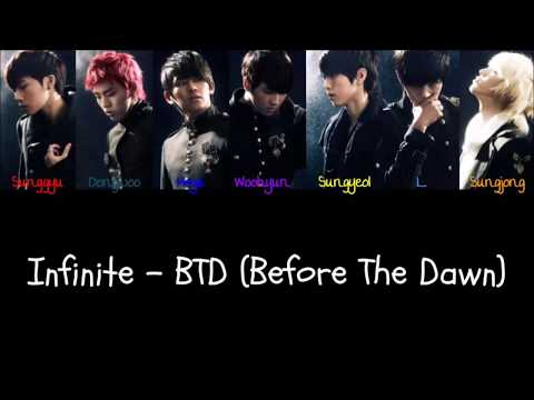 Infinite - BTD (Before The Dawn) (Color Coded Han|Rom|Eng Lyrics) | by Bacon Biased
