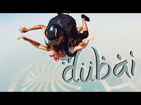 Dubai Travel Vlog | Skydive, Desert Hot Air Balloon, Zip Line and More
