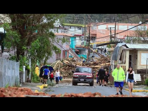Puerto Rico Gov: Maria Aftermath Is A 'Disaster Of Unprecedented Nature'