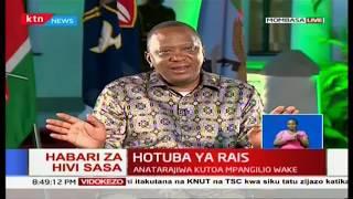President Uhuru Kenyatta reaffirms that he won last year's elections
