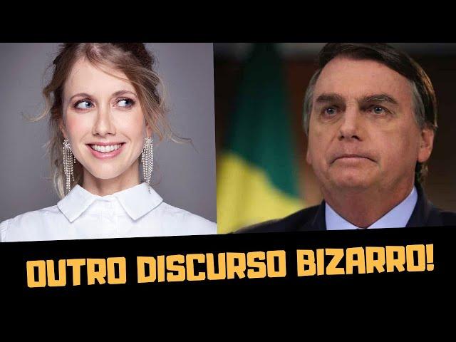 O BIZARRO DISCURSO DE BOLSONARO NA ONU feat GABRIELA PRIOLI