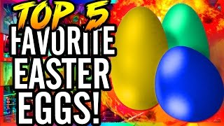 Top 5 Favorite Easter Eggs in Call of Duty Zombies ~ WaW, Bo, Bo2 & Exo-Zombies Gameplay!