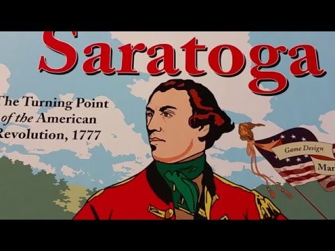 Thinking Of Playing: Great Battles of the American Revolution - Saratoga - 1