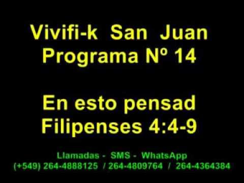 Programa Nº 14 - Vivifi-k San Juan Radio