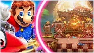 ¡¡ EL PALACIO JAPONÉS DE BOWSER !! - Super Mario Odyssey, Gameplay Español#11 - [WithZack]