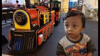 Naik Kereta Api Tut tut tut di Paragon Mall