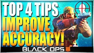 HOW TO IMPROVE AIM! BO4 Aiming Tips (How to Find Your Best Sensitivity + Accuracy Drill)