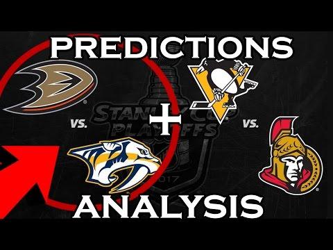 2017 NHL PLAYOFFS CONFERENCE FINALS PREDICTIONS AND ANALYSIS | NASHVILLE PREDATORS VS ANAHEIM DUCKS