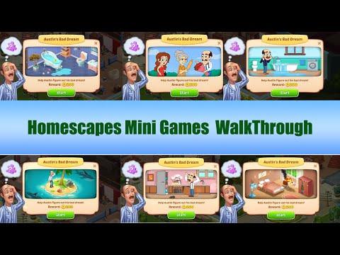 Homescapes Mini Game