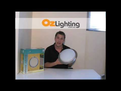 Eglo - Alicante Opal Glass Round Bunker Light