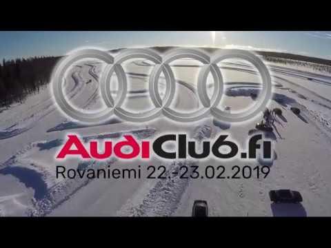 Audiclub Finland ice track event Rovaniemi 22-23.2.2019