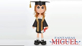 Adorno Fofucha para Graduacion
