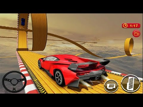 Car Driving & Racing On Crazy Sky Tracks Game #Android GamePlay FHD #Car Games To Play #Games Car