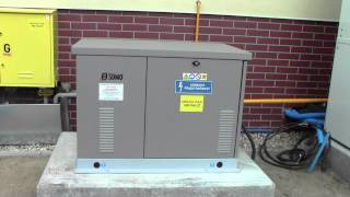 Agregat prądotwórczy na gaz ziemny NG, CNG