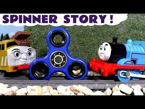 Fidget Spinner Game by Thomas & Friends Diesel 10 Family Fun Train Toys Toy Story for kids TT4U