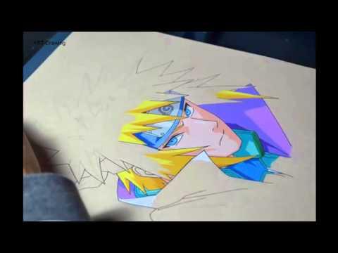 Hướng Dẫn Vẽ Minato Namikaze