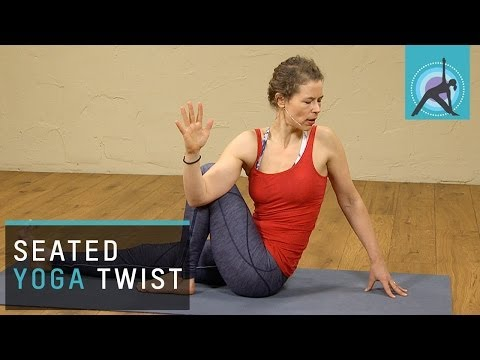 Seated Yoga Twists to Neutralize your Spine