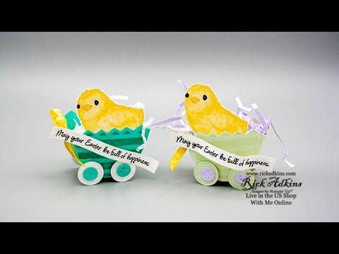 Treat Week 2020 #5 - FULL OF HAPPINESS Cadbury Egg Easter Buggy Treat Holder