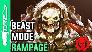 BEAST MODE RAMPAGE! - Gears of War 3 BEAST MODE Multiplayer Gameplay (Gears of War 3 Beast Mode)