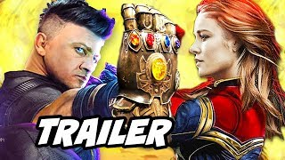 Avengers Infinity War Trailer Hawkeye Cut and Missing Characters Explained