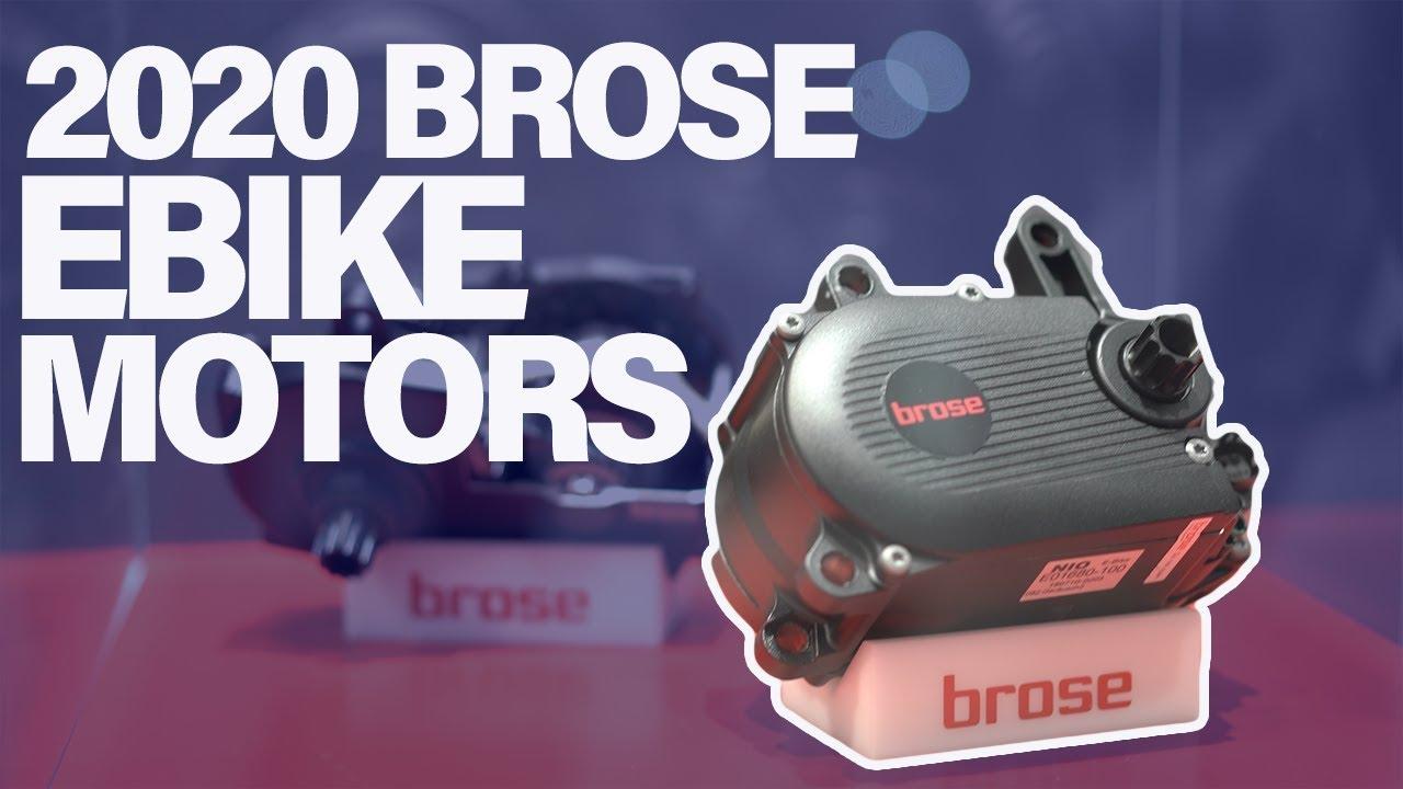 2020 Brose Motor Brose S New Closed Electric Bike System Youtube