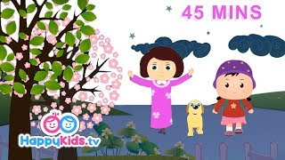 Early To Bed And More Good Habits Songs   Rhymes For Kids, Children And Babies   Happy Kids
