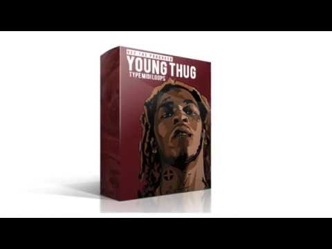 15 Young Thug Type MIDI & WAV Loops Pack [Free Download]