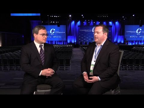 Ezra Levant's FULL interview with Jason Kenney at #cpc16