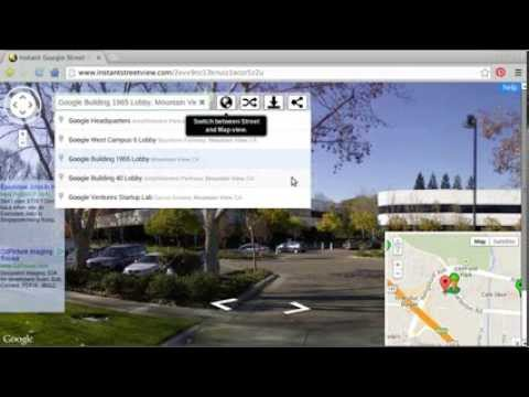Instant Google Street View - Street View version of instant search