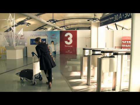 Aéroports de Lyon : accéder à la zone d'embarquement du T3, c'est facile !
