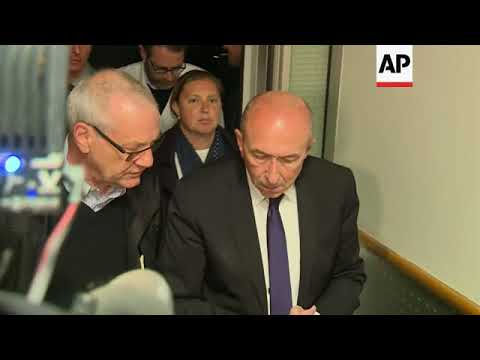 French interior minister visits wounded in hospital