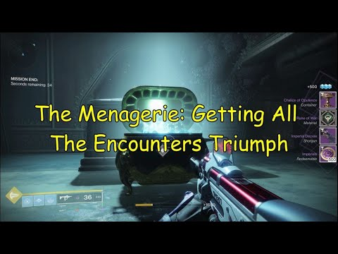 The Menagerie: Getting All The Encounter Triumphs - Glenn Sim