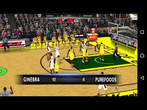 PBA 2k15 v2 Android Gameplay Manila Clasico