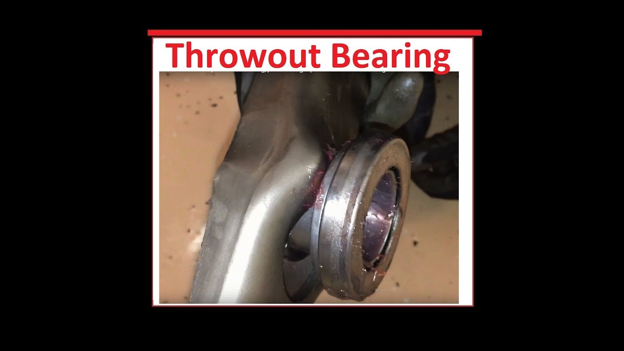 How to install the Throwout bearing / Release Bearing install Ford Mustang