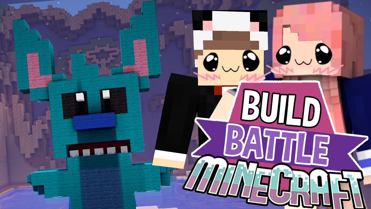 Lilo Stitch Build Battle Minecraft Building Minigame