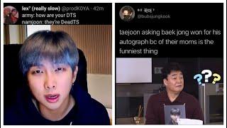 Download lagu BTS meme tweets bc we stan Mr.Baek