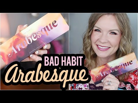 Bad Habit Arabesque! Swatches, Review & Tutorial!   LipglossLeslie