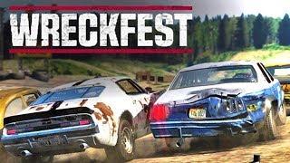 Wreckfest Multiplayer - Next Car Game ☆ Wyścigi i Derby z Ekipą ㋡
