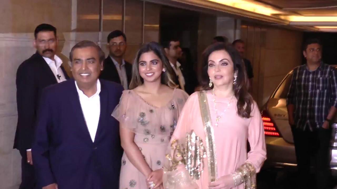 LIVE : Bollywood Stars At Priyanka Chopra & Nick Jonas GRAND ...