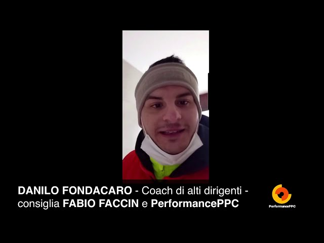 Il Coach Danilo Fondacaro consiglia Fabio Faccin e PerformancePPC