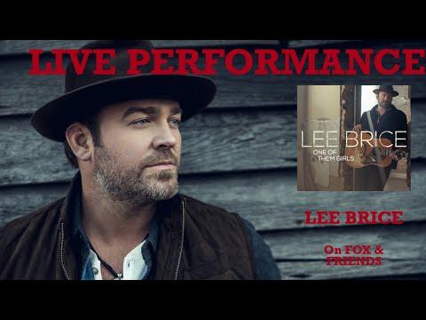 Lee Brice performs of original song